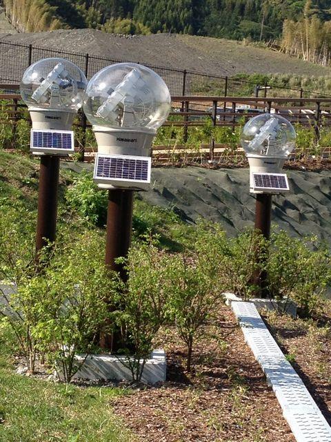 新東名 清水SAの太陽光発電